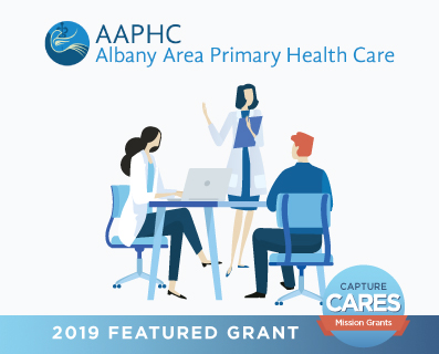Albany Area Primary Health Care grant graphic - small
